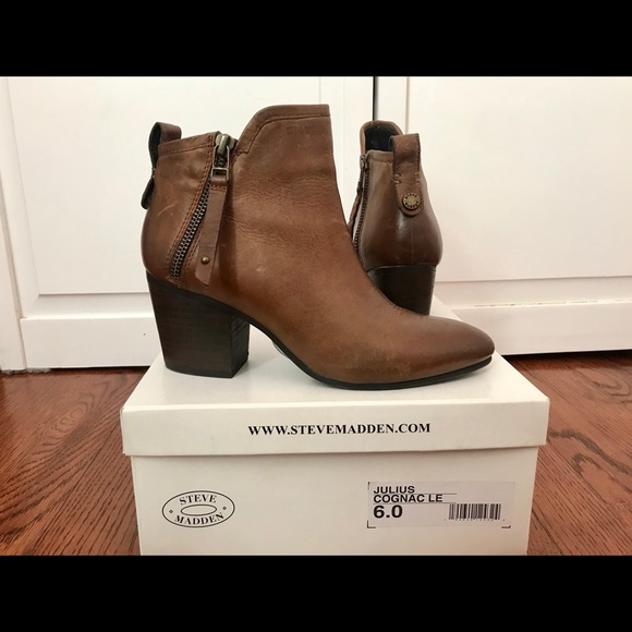 f36fe2f570d Steve Madden Julius Brown Ankle Boots. M 5b4d4e96819e908a7a1ebd92
